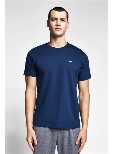 Lescon Kozmik Safir Erkek Kısa Kollu T-Shirt 21S-1202-21N Mavi